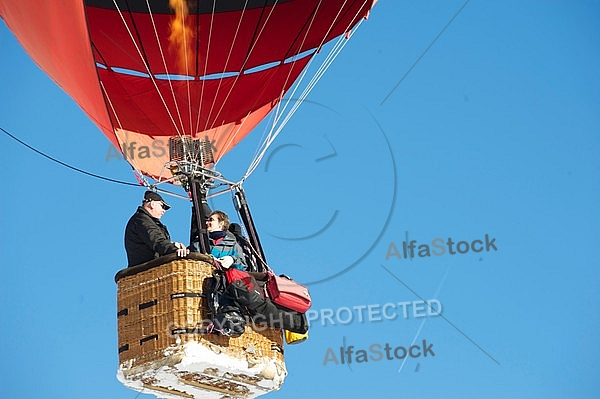 2012-01-15 Hot air balloon festival in the Tannheim Valley, Austria