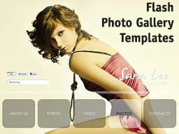 Flash Fhoto Gallery Templates