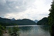 Alpsee at Hohenschswangau in Germany