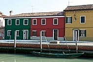 Burano in the Venetian Lagoon, Italy