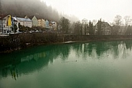 Fog over the River Lech, Germany
