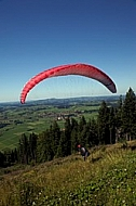 Gliding in The Alps, Germany