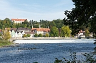 Landsberg am Lech in Bavaria in Germany