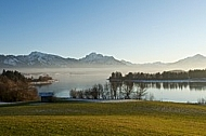 Spring at Lake Forggensee, Germany