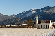 St Coloman's Sanctuary in Schwangau, Germany