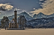 St Coloman's Sanctuary in Schwangau