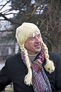 Women's wig Man, Holiday