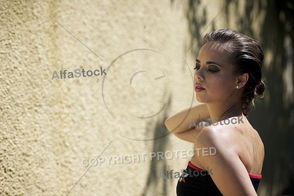 Young girl shooting, Fashion, Model Sooting